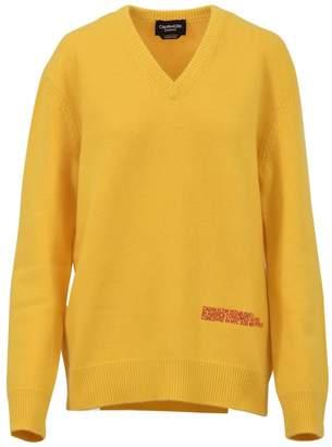 Calvin Klein V-neck Yellow Sweater