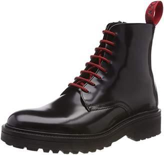 HUGO Men's Impact_halb_bo Combat Boots, (Black 001)