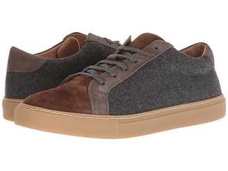 Eleventy Suede/Flannel Sneaker