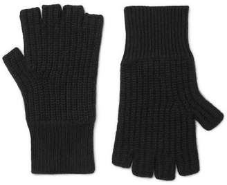 Rag & Bone Ace Fingerless Cashmere Gloves