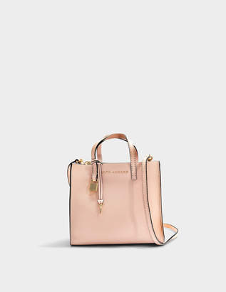 Marc Jacobs The Mini Grind Bag in Rose Cow Leather