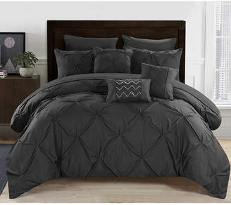 Chic Home Hannah 10 Piece Queen Comforter Set Bedding