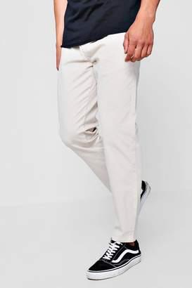 boohoo Stone Jogger Style Chino Trouser