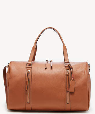 Sole Society Women's Garyn Weekender Faux Leather In Color: Cognac Bag From