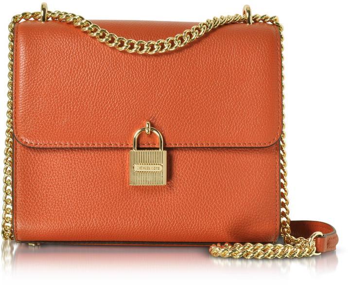 MICHAEL Michael KorsMichael Kors Mercer Large Pebble Leather Messenger Bag