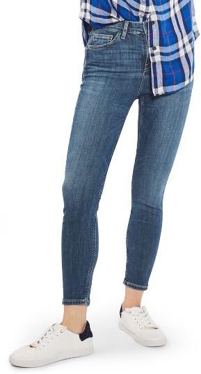 TopshopPetite Women's Topshop Jamie High Rise Skinny Jeans