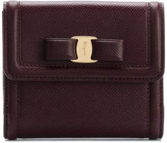 Salvatore Ferragamo Vara Bow French wallet