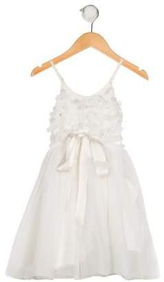 Tutu du Monde Girls' Sleeveless Tulle Dress