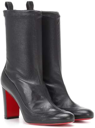 Christian Louboutin Gena Bootie 85 leather ankle boots
