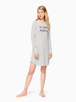 Kate Spade Thermal sleepshirt