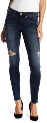 Blank NYC Blanknyc Denim Distressed Mid Rise Skinny Jeans