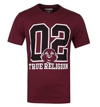 True Religion Men's LS 02 SS Crew Neck TEE