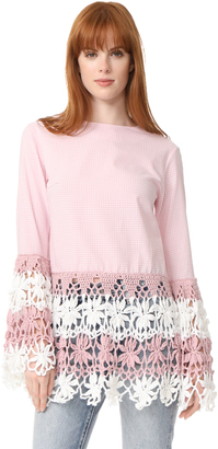 Michaela Buerger Long Sleeve Top $380 thestylecure.com