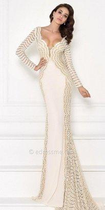 Tarik Ediz Catherie Evening Dress $866 thestylecure.com