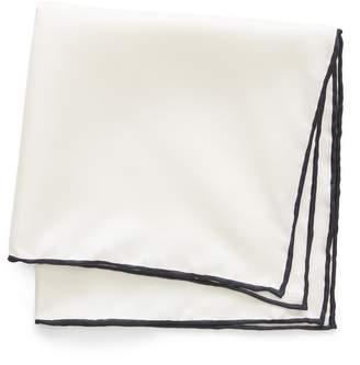 Banana Republic Solid Silk Pocket Square
