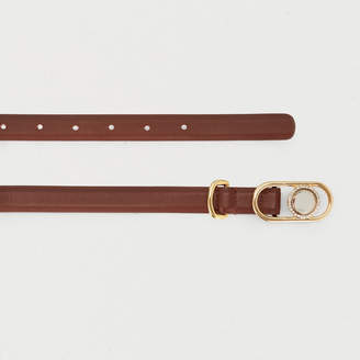 Maje Waistbelt in leather with buckle