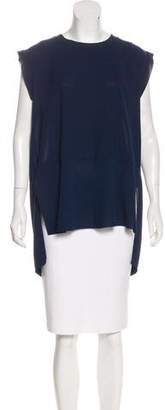 By Malene Birger Sleeveless High-Low Tunic