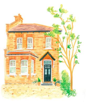 Roxwell Press Original Watercolour Building Portrait