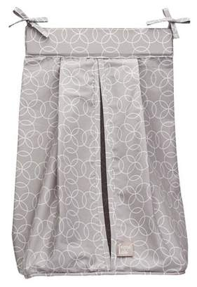 Trend Lab Gray Rings Diaper Stacker