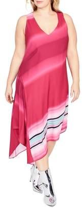 Rachel Roy Cami Scarf Midi Dress