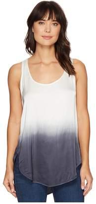 Heather Ombre Scoop Tank Top Women's Sleeveless