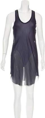 Isabel Marant Silk Sheer Dress