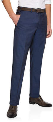 Emporio Armani Men's Classic Wool Dress Trousers