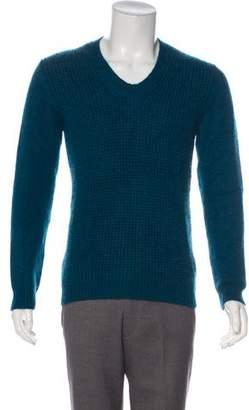 Lanvin Cashmere & Mohair Mélange Sweater