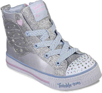 c9e71d53baf0 Skechers Twinkle Toes Shuffle Lite Wonder Wingz Toddler   Youth Light-Up -  Girl s