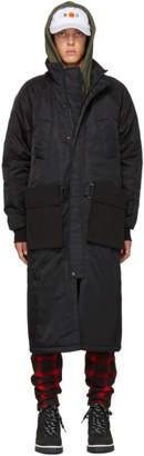 D by D Black Outpocket Jumper Coat