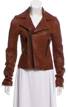 Balenciaga Textured Leather Jacket
