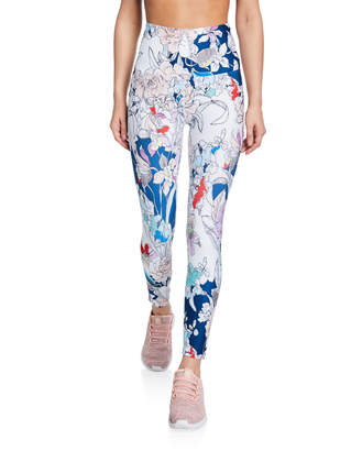 Nanette Lepore Play Ultra High-Waist Santa Rosas Leggings