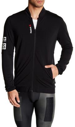 Reebok Stretch Track Jacket $75 thestylecure.com