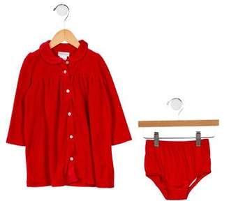 Ralph Lauren Girls' Velour Two-Piece Dress Set w/ Tags