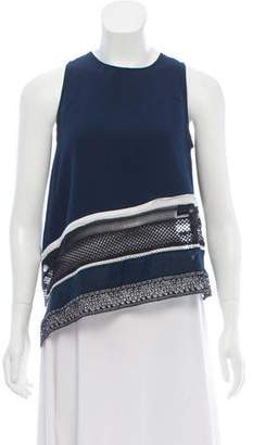 Jonathan Simkhai Sleeveless Asymmetrical Top