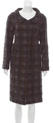 Marni Wool Bouclé Coat
