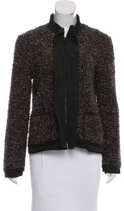 Lanvin Knit Zip-Up Jacket