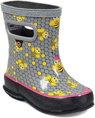 Bogs Skipper Bees Rubber Waterproof Rain Boot