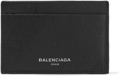 Balenciaga Balenciaga - Textured-leather Cardholder - Black