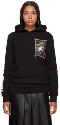 Palm Angels Black Flower Pot Hoodie