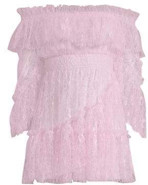 Alice McCall Only Hope Off-The-Shoulder Ruffle Dress
