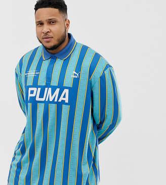 Puma Striped Soccer Jersey