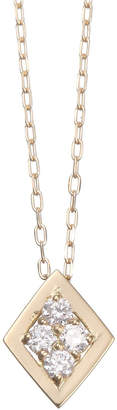 Essenza Diamond Jewelry Selection K18YG ダイヤネックレス 0.08ct