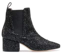 HUGO Chelsea boots with glitter uppers and leather trims