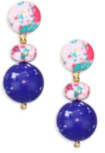 Lele Sadoughi Pebble Drop Earrings