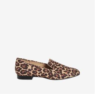 Joe Fresh Women's Leopard Print Loafers, Natural (Size 8)