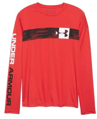 Under Armour Pixel Crossbar HeatGear(R) T-Shirt