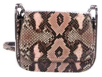 1ddfe6bbd60f Pre-Owned at TheRealReal · Salvatore Ferragamo Python Adele Crossbody Bag