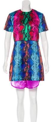 House of Holland Printed Sheath Dress
