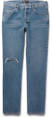 Balenciaga Archetype Distressed Denim Jeans